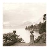 Villa Monastero, Lago di Como Print by Alan Blaustein