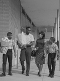 African American Family Carrying Grocery Bags Photographic Print by H. Armstrong Roberts