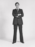 Smiling Man Standing Wearing Business Suit Photographic Print by H. Armstrong Roberts