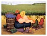 Lowell Herrero - Summer Picnic Obrazy