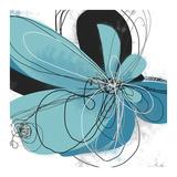 Azul Poetry 2 Kunstdruck von Jan Weiss