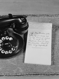 Rotary Telephone Note Pad with Phone Message Photographic Print by H. Armstrong Roberts
