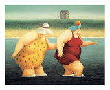 Judy y Marge|Judy and Marge Arte por Lowell Herrero