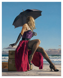 On Crescent Beach Art by Paul Kelley