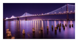 The Bay Lights Prints by Greg Linhares