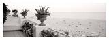 Positano Terrazza Vista Print by Alan Blaustein