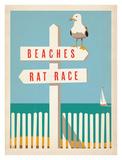 Beaches vs. Rat Race Posters par  Anderson Design Group