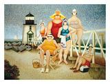 Vacances à la plage Affiches par Lowell Herrero