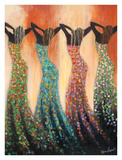 Dance of the Summer Solstice Plakater af Monica Stewart