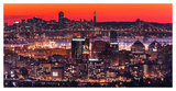 Oakland SF Twilight Prints by Greg Linhares