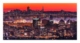 Oakland SF Twilight Prints by Greg Linhares