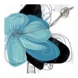 Azul Poetry 1 Kunstdrucke von Jan Weiss