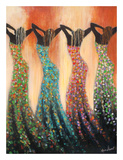 Dance of the Summer Solstice Poster par Monica Stewart