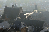 Rooftops of Medieval Buildings in Marburg Photographic Print by Nick Upton