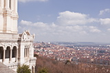 Looking over the City of Lyon from Basilica Notre Dame De Fourviere Photographic Print by Julian Elliott