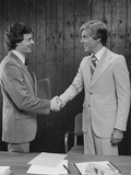 Two Businessmen Shaking Hands Handshake Photographic Print by H. Armstrong Roberts