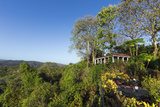 Beautifully Situated Lagarto Lodge Above the Nosara River Mouth Photographic Print by Rob Francis