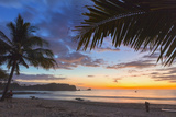 Sunset by the Southern Headland of Beautiful Playa Pelada Beach Photographic Print by Rob Francis
