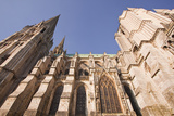 Gothic Architecture on Chartres Cathedral Photographic Print by Julian Elliott
