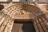 The Tympanum on the West Front of Chartres Cathedral Photographic Print by Julian Elliott