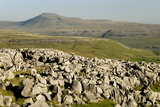 Ingleborough Photographic Print by Tony Waltham