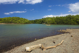 View across the Nosara River Mouth Towards the Biological Reserve Photographic Print by Rob Francis