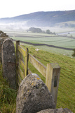 Gate in Stone Wall and Field Photographic Print by Miles Ertman