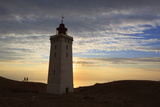 Rubjerg Knude Fyr (Lighthouse) Buried by Sand Drift, Lokken, Jutland, Denmark, Scandinavia, Europe Photographic Print by Stuart Black