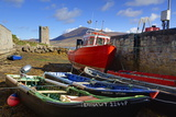 Fishing Boats at Kildownet Pier Photographic Print by Richard Cummins