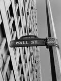 H. Armstrong Roberts - Wall Street Sign - Fotografik Baskı