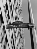 Wall Street Sign Photographic Print by H. Armstrong Roberts