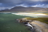 View across the Beach at Seilebost Towards Luskentyre and the Hills of North Harris Photographic Print by Lee Frost