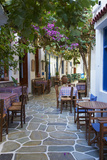 Driopida, Ancient Village, Kythnos, Cyclades, Greek Islands, Greece, Europe Fotografisk tryk af  Tuul