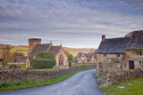 The Church of St. Barnabas in the Cotswold Village of Snowshill Photographic Print by Julian Elliott