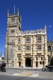 Church of St. John the Baptist and 15th Century South Porch Photographic Print by Stuart Black