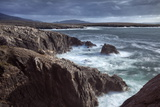 Rugged Coastline Being Pounded by Waves on the West Coast of Lewis Near Mangersta Photographic Print by Lee Frost