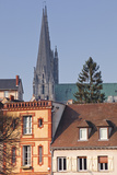 The Gothic Chartres Cathedral Photographic Print by Julian Elliott