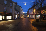 Cobbled Silver Street at Christmas Photographic Print by Mark Sunderland