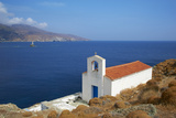 Chapel, Hora, Andros Island, Cyclades, Greek Islands, Greece, Europe Photographic Print by  Tuul