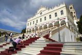 Panagia Evangelistria Church, Hora, Tinos, Cyclades, Greek Islands, Greece, Europe Photographic Print by  Tuul