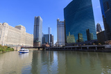 Chicago River Photographic Print by Amanda Hall