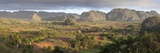Panoramic View of Vinales Valley Photographic Print by Lee Frost