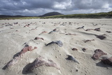 Uig Beach with Patterns in the Foreground Created by Wind Blowing the Sand Photographic Print by Lee Frost
