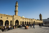 Huge Square with Below the Citadel of Erbil (Hawler), Capital of Iraq Kurdistan, Iraq, Middle East Photographic Print by Michael Runkel