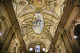 Interior of Iglesia Catedral at Plaza San Martin Photographic Print by Yadid Levy