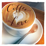 Coffee Love Prints by Sue Schlabach