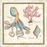 Oceanography I Kunstdrucke von Daphne Brissonnet