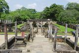 Vatadage, Quadrangle, Polonnaruwa, North Central Province, Sri Lanka, Asia Photographic Print by Christian Kober