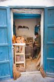 Carpenter in Old Medina Photographic Print by Matthew Williams-Ellis