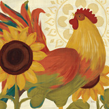 Spice Roosters II Prints by Veronique Charron